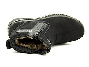 Ботинки для мальчика Черные Зима Размер: 40, фото 3