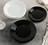 Сервиз столовый Harena Black&White, 18 предметов Luminarc., фото 1