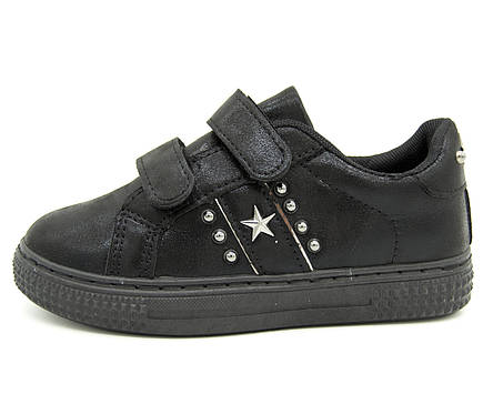 Кроссовки для девочки черные Размеры: 30, фото 2