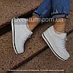Черные женские кроссовки  кожаные    36-40 черный, фото 8