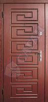 Дверь входная Саган 850х2030;950х2030 мм металл-МДФ №16