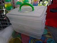 Набор контейнеров для пищевых продуктов для заморозки или непищевых для мелочей