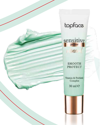 Праймер для лица под макияж TopFace Sensitive Mineral Primer 30 мл PT567