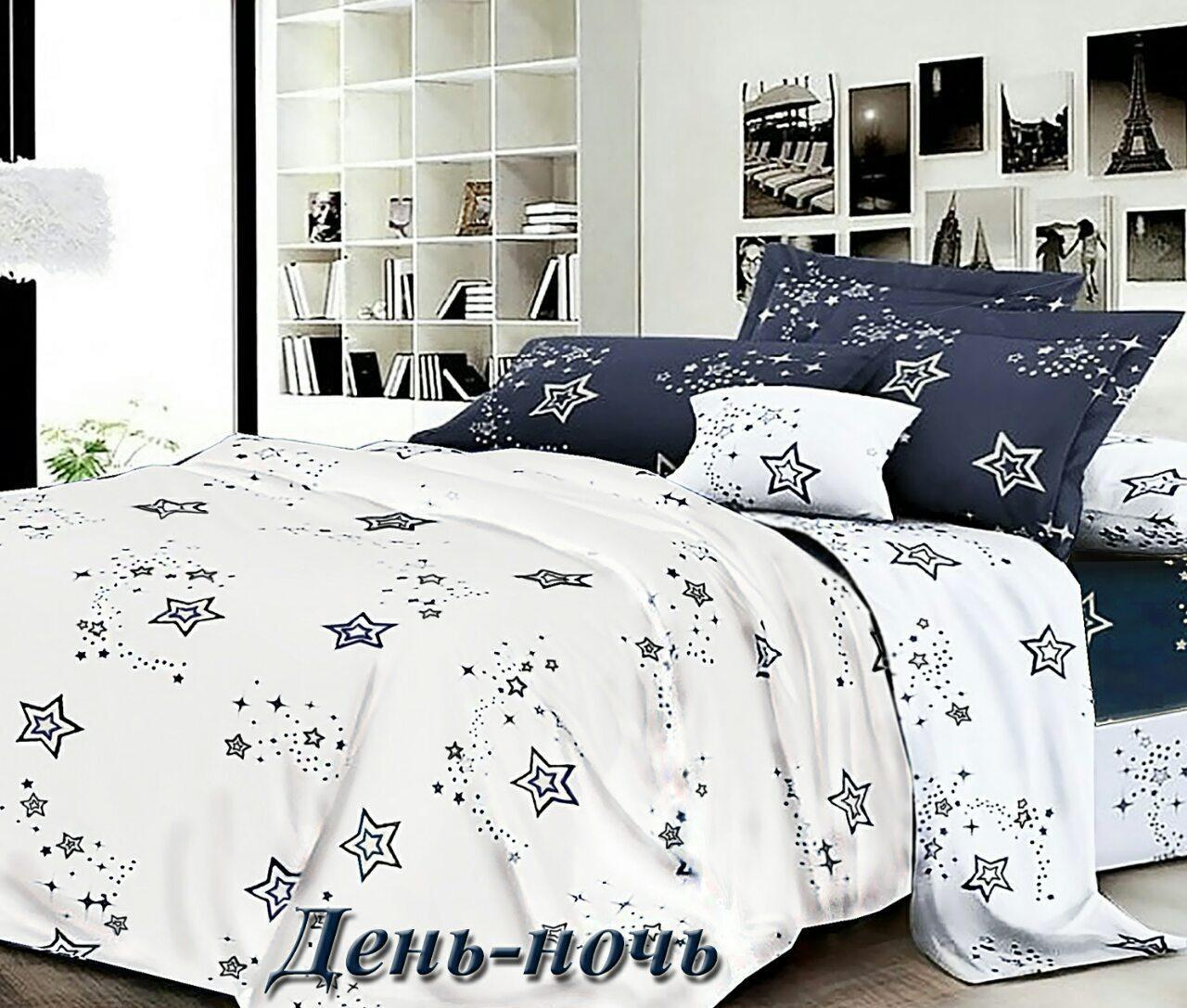 Комплект спального постільної білизни ТИРОТЕКС євро Сатин - 100% бавовна