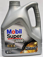 Масло моторное Mobil Super 3000 X1 Diesel 5W-40 4 литра