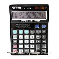 Калькулятор настольный CITIZEN 5812 двойное питание