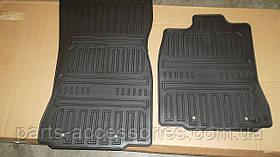 Jaguar XJ 2011-14 коврики резиновые передние новые оригинальные