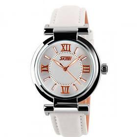 Жіночі наручні годинники Skmei Elegant White 9075