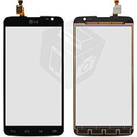 Touchscreen (сенсорный экран) для LG Optimus G Pro Lite D685, D686, черный, оригинал