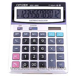 Калькулятор настольный  CITIZEN 3882 двойное питание