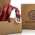 Шкіряний жіночий ремінь Betlewski®, фото 6