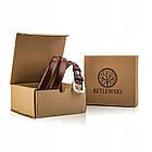 Шкіряний жіночий ремінь Betlewski® 2 х 0.2 (LIC20-3-SR-75) - коричневий, фото 3