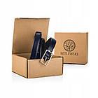 Шкіряний жіночий ремінь Betlewski® 2 х 0,2 (LIC20-2-SR) - синій, фото 6
