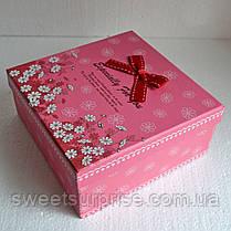 """Подарунковий набір """"Кіндер-сюрприз"""" (квадратна коробка), фото 2"""