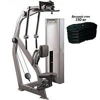 Тренажер для мышц груди и задних дельт Xline X124.1 стек 150 кг