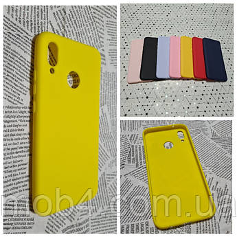 Силиконовый чехол Candy (Кенди) для Huawei (хуавей) P 20 lite