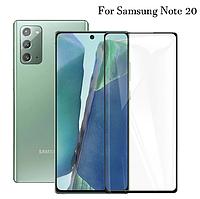 Защитное стекло для Samsung Galaxy Note 20 черный, фото 1