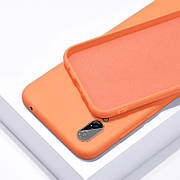 Силиконовый чехол SLIM на Samsung Note 10+ Plus Orange