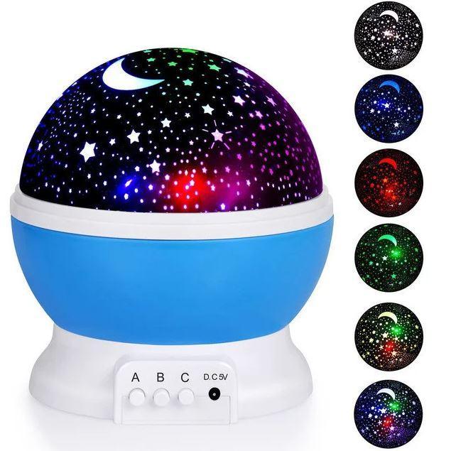 Ночник звездного неба Star Master NEW BIG, Синий