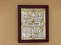 Икона большая в деревянной рамке