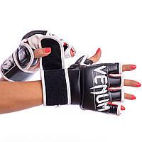 Перчатки тренировочные для смешанных единоборств MMA VENUM UNDISPUTED FLEX Черный (СПО BO-5790) M, фото 1