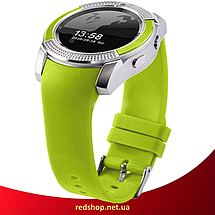 Розумні годинник Smart Watch V8 сенсорні - смарт годинник Зелені, фото 3