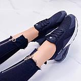 Только 38 р 24 см! Кроссовки черные  женские текстиль + резина, фото 6
