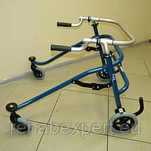 Б/У Ходунки для детей с ДЦП Hoggi FLUX Lightweight Posterior Walker Size 3