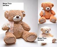 Медведь плюшевый теддди большойс шарфом высота 60 см