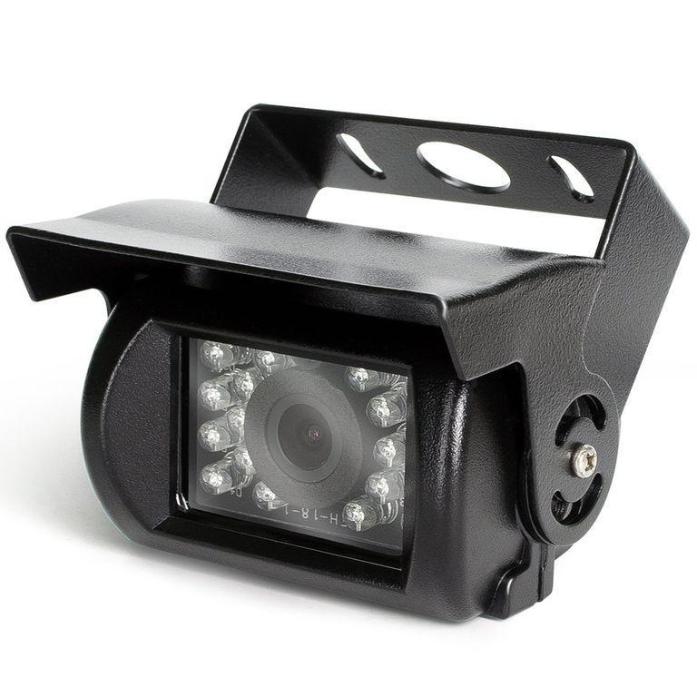 Камера переднього виду з ІЧ-підсвічуванням для Автобусів, Вантажівок, Спецтехніки. (КПВ-193)