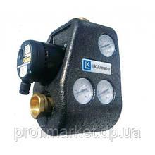 """Змішувальний вузол LK ARMATUR 810 G ThermoMat з насосом Hulm хв 55°C 1 1/4"""" з зворотним клапаном"""