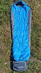 Спальник туристический Terra Incognita Siesta 200 Regular Синий/серый