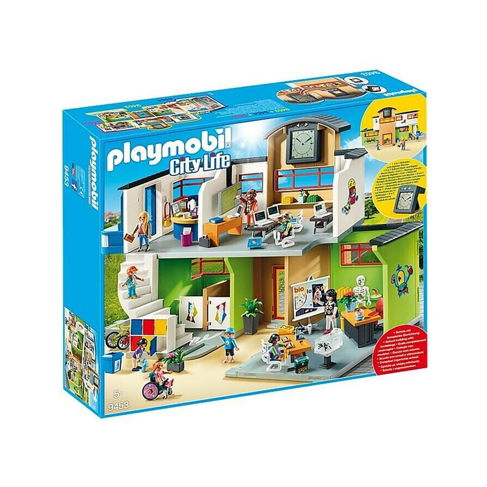 """Игровой набор """"Школьное здание с мебелью"""" Playmobil (4008789094537)"""
