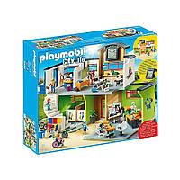 """Игровой набор """"Школьное здание с мебелью"""" Playmobil (4008789094537), фото 1"""