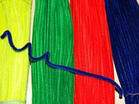 Бархатные палочки Синие 10шт