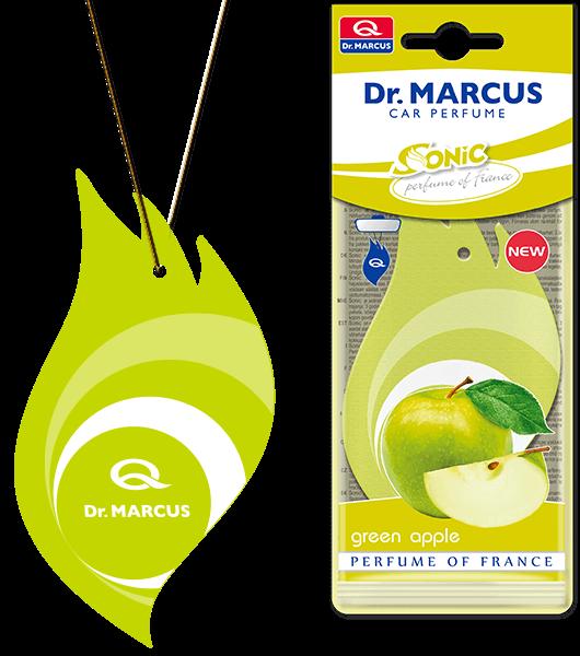 Ароматизатор листочок Dr Marcus Sonic Green Apple Зелене яблуко
