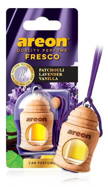 Ароматизатор пачулі, лаванда, ваніль Areon Fresko Patchouli lavender Vanilla