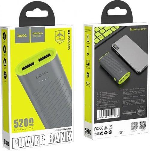 Внешний аккумулятор (power bank) Hoco 5200 мАч B31C