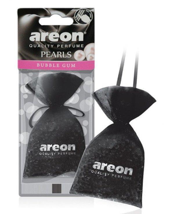 Ароматизатор мішечок Areon Pearls Bubble Gum чорний
