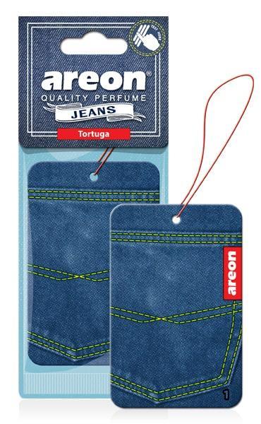 Ароматизатор сухий листочок Areon Jeans Tortuga