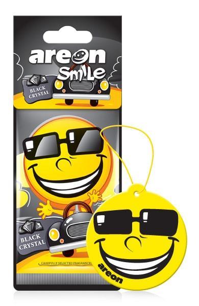 Ароматизатор сухий Areon Smile Black Crystal