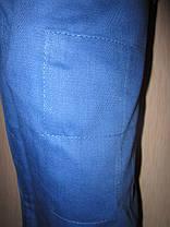 Кимоно для дзюдо синее (размер от 130 см до 190 см), фото 3