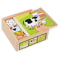Игрушечные кубики деревянные T22-006