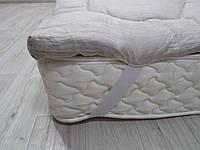 Топер з конопляного волокна, покриття льон, фото 1