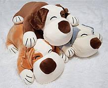 Подушка - игрушка плед 3 в 1 Собачка