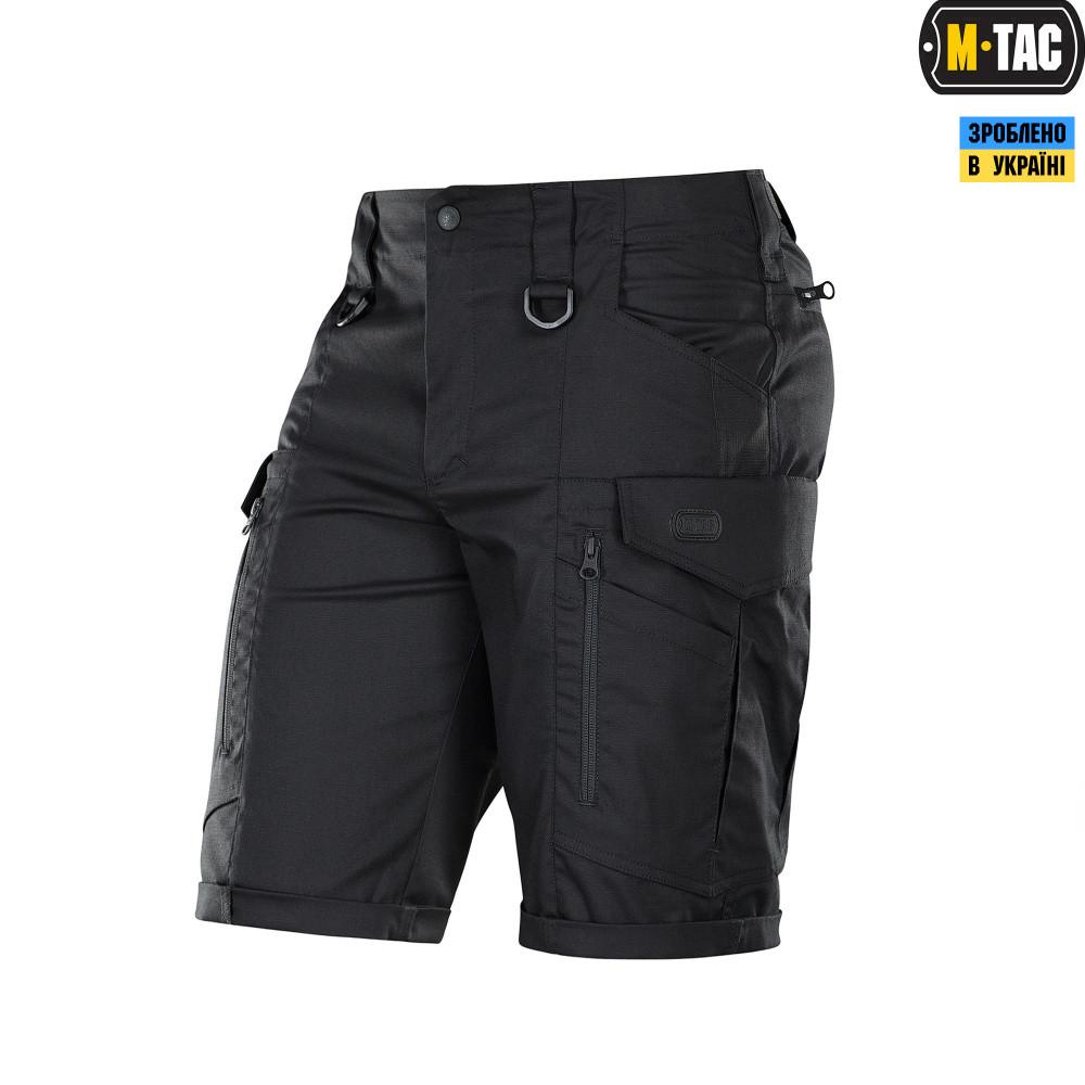 M-Tac шорты Conquistador Flex Black