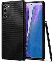 Чохол Spigen для Samsung Galaxy Note 20 - Liquid Air Black (ACS01418)