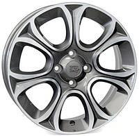 WSP Italy FIAT W163 EVO R16 W6 PCD4X98 ET45 DIA58,1 ANTHRACITE POLISHED