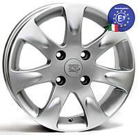 WSP Italy KIA W3702 AIDA R15 W6 PCD4X100 ET43 DIA56,1 SILVER