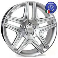 WSP Italy MERCEDES W766 AMG NERO R19 W8,5 PCD5X112 ET62 DIA66,6 HYPER SILVER